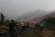 ببینید | روایت کشاورزان فداکار فیروزکوهی از نجات قطاری که به سیلاب نزدیک میشد