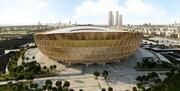 تکمیل ورزشگاه فینال جام جهانی 2022 قطر/ عکس