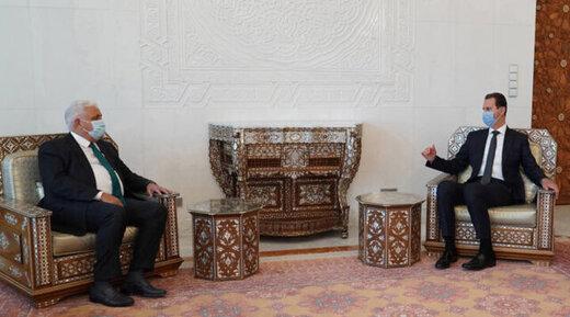 پیام نخست وزیر عراق به بشار اسد