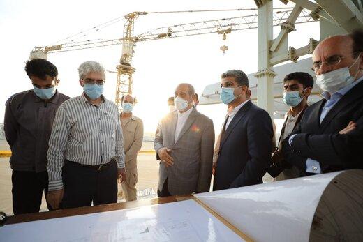 مشاور رییسجمهوری از عملیات اجرایی ورزشگاه کریکت چابهار بازدید کرد