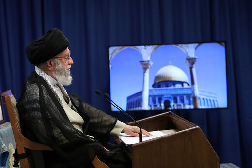 ببینید |  پیام تبریک رهبر انقلاب به ملت فلسطین
