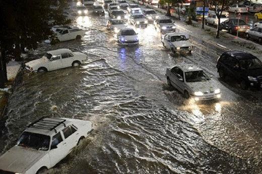 ببینید | تصاویر باورنکردنی و هولناک از بارندگی سیلآسا در تبریز