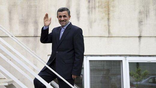 احمدی نژاد در مسیر وزارت کشور: ۲۲ اردیبهشت ۱۴۰۰ یادتان باشد /تجمع در مقابل وزارت کشور