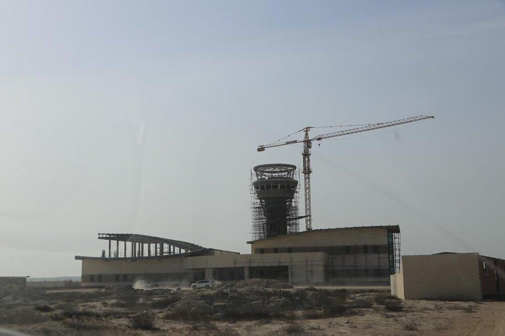 بازدید مدیرعامل سازمان منطقه آزاد قشم از پروژه های قابل افتتاح جزیره