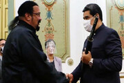ببینید | شمشیر سامورایی هدیه به آقای رئیس جمهور