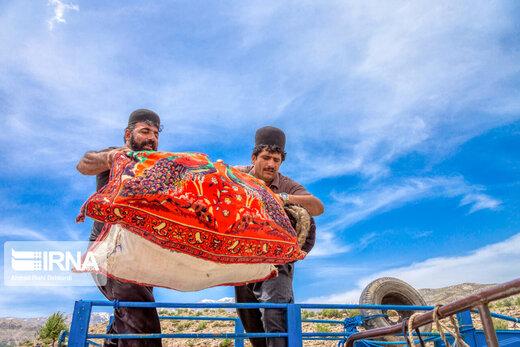 کوچ عشایر بختیاری به استان چهارمحالوبختیاری