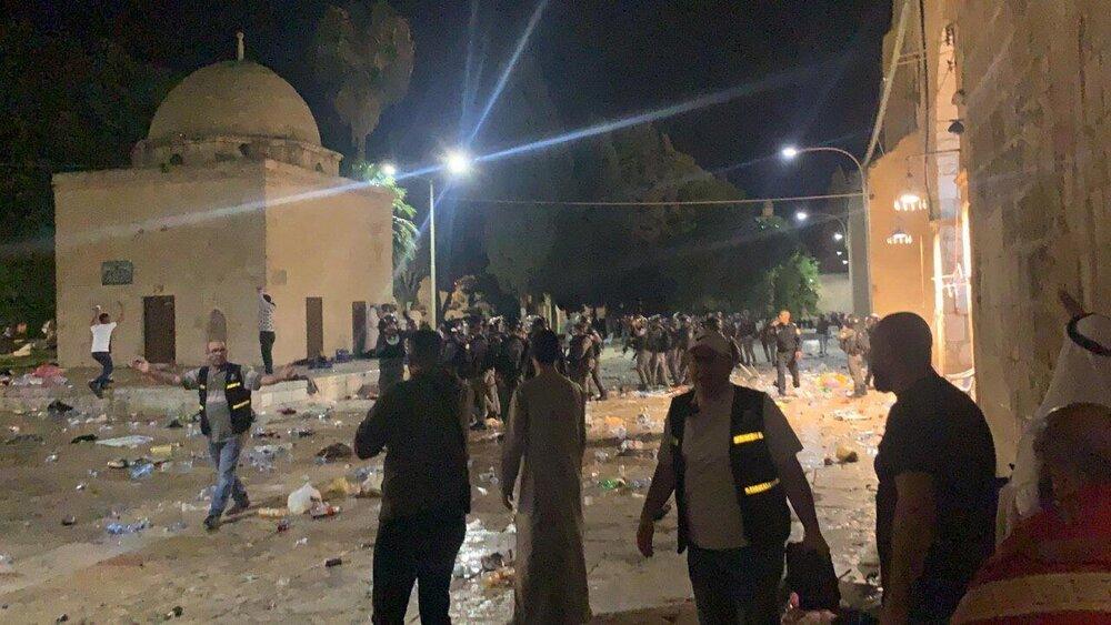 Iran condemns Zionists' attack on Al Aqsa, Palestinians
