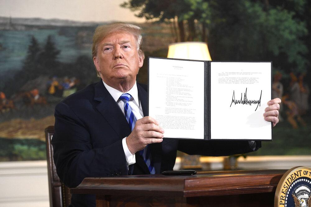 روزی که ترامپ این تصویر را در تاریخ جامعه بینالملل برای همیشه ثبت کرد/عکس