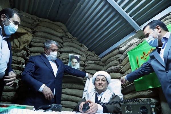 تندیس آیتالله هاشمی رفسنجانی در موزه انقلاب اسلامی و دفاع مقدس، رونمایی شد