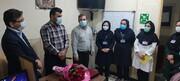 آئین تجلیل از مقام مامایی به مناسبت فرارسیدن روز جهانی ماما در بیمارستان امام خمینی(ره) دهدشت