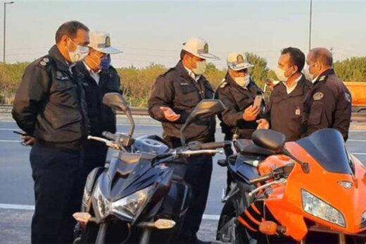 ببینید | ماجرای توقیف ٣ موتورسیکلت سنگین در تهران