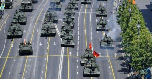 قدرتنمایی نظامی روسیه در پی بالا گرفتن تنش با غرب