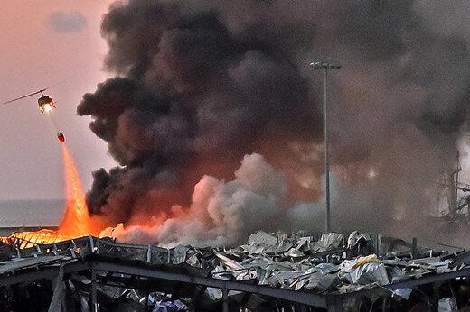 ببینید   اولین تصاویر از آتشسوزی گسترده در صنایع نظامی رژیم صهیونیستی در حیفا