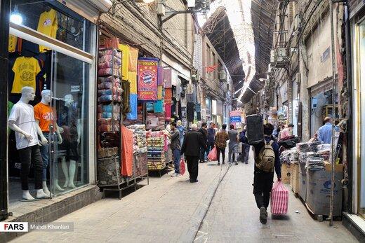 بازگشایی بازار تهران پس از یک ماه