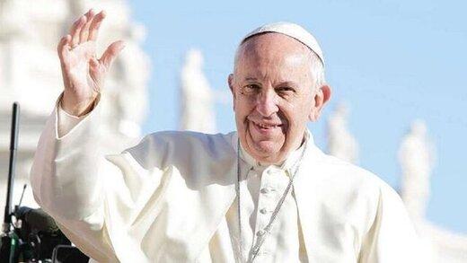 پاپ خواستار توقف جنایات رژیم صهیونیستی شد