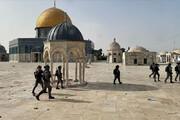 ببینید | حمله وحشیانه یهودی افراطی در بیت المقدس به مسلمانان با ماشین