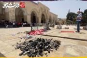 ببینید   جنایت صهیونیستها؛ پوکه گلولههای گاز اشکآور در صحن مسجدالاقصی