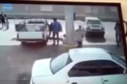 ببینید | انفجار هولناک کپسول CNG در یکی از جایگاههای تبریز