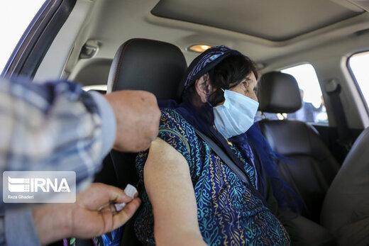 واکسیناسیون کووید ۱۹ در خودرو