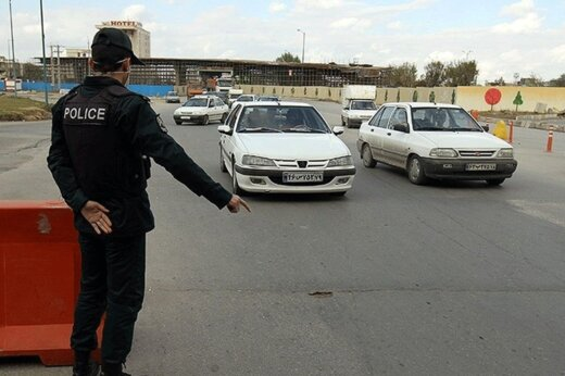۳۷۱ هزار وسیله نقلیه در محدودیتهای تردد عید فطر جریمه شدند