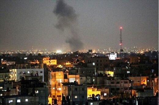 حمله رژیم صهیونیستی به سوریه و غزه
