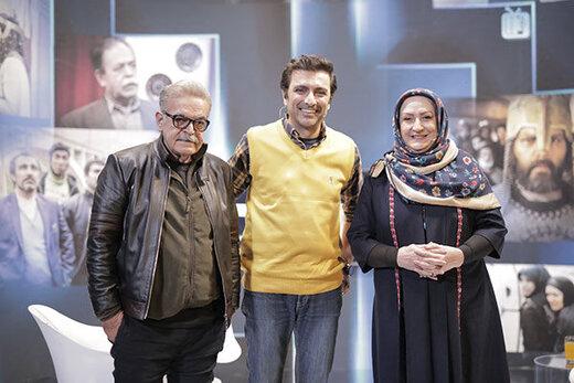 حمید لولایی و مریم امیرجلالی، بازیگران سریال «خانه به دوش» در شبکه آیفیلم