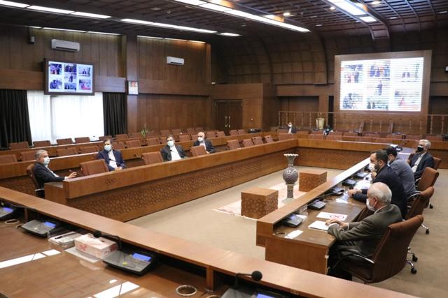 نشست مشترک مسئولان کمیته ملی المپیک سخنگوی وزارت امور خارجه