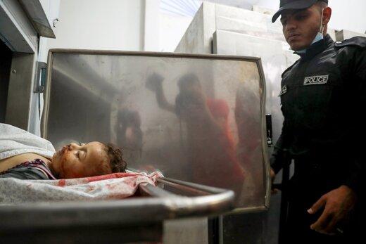 تصاویر تکان دهنده از شهدای نوار غزه/عکس