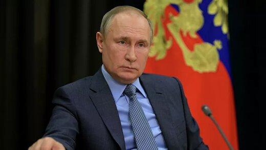 درخواست پوتین درباره غزه