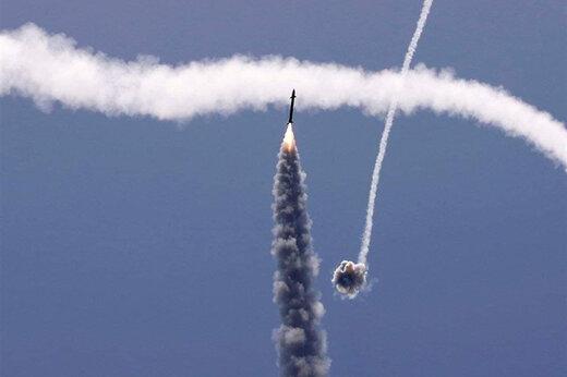ببینید | حملات راکتی جدید مقاومت فلسطین به اشدود و عسقلان