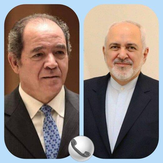 تماس تلفنی ظریف با وزیرخارجه الجزایر