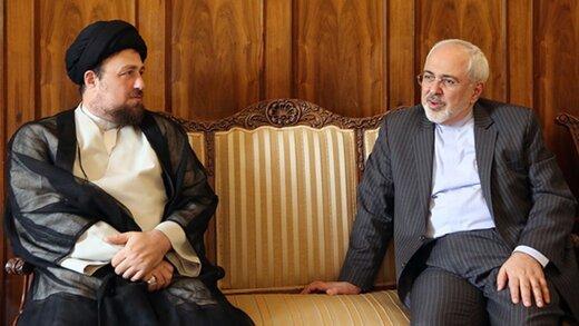 جزئیاتی از جلسه ظریف با سید محمد خاتمی و سید حسن خمینی