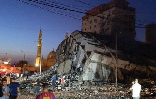 رژیم صهیونیستی مقر خبرنگاران را هدف حمله قرار داد