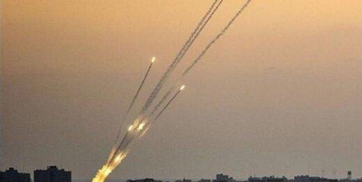 پرواز موشکهای مقاومت به سمت دیمونا