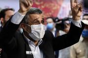 تصاویر | قابهایی از حضور احمدینژاد در وزارت کشور