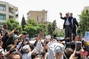ببینید | جشن تولد ۶۵ سالگی احمدینژاد در نارمک