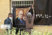 تصاویر | پیکر استاد عبدالوهاب شهیدی به خاک سپرده شد