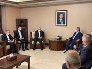 وزیران خارجه ایران و سوریه دیدار کردند