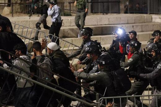 ببینید   فرار پلیس رژیم صهیونیستی از دست معترضین