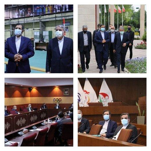 آمادگی وزارت خارجه برای همکاری همه جانبه با کمیته ملی المپیک