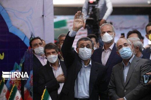 احمدی نژاد در وزارت کشور