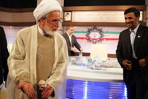 ببینید | طعنه فارس پلاس به احمدینژاد با استفاده از حرف سال ۸۸ او به کروبی
