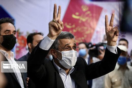 ببینید | احمدینژاد خبر واکسن زدنش را تکذیب کرد/ معلوم شد جنس خوب زدند!