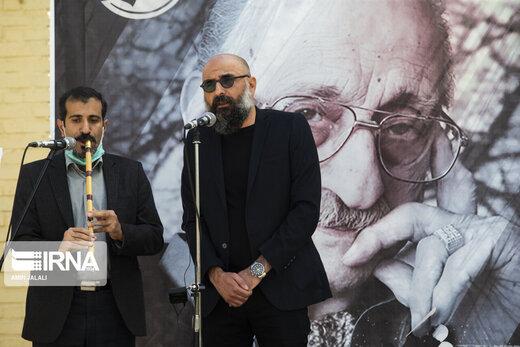 تشییع و خاکسپاری پیکر استاد عبدالوهاب شهیدی