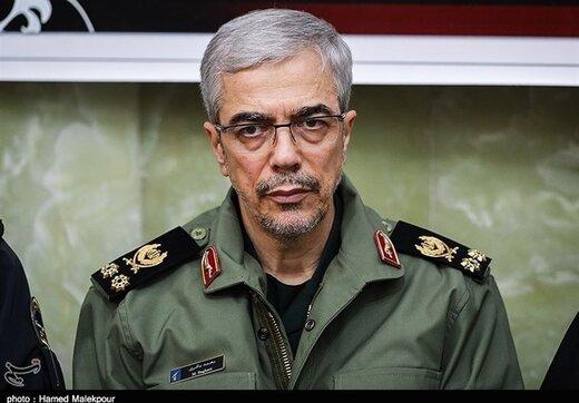سرلشکر باقری: شیطنت درمرزها را تحمل نمیکنیم/ لزوم برخورد با گروهکهای ضد انقلاب