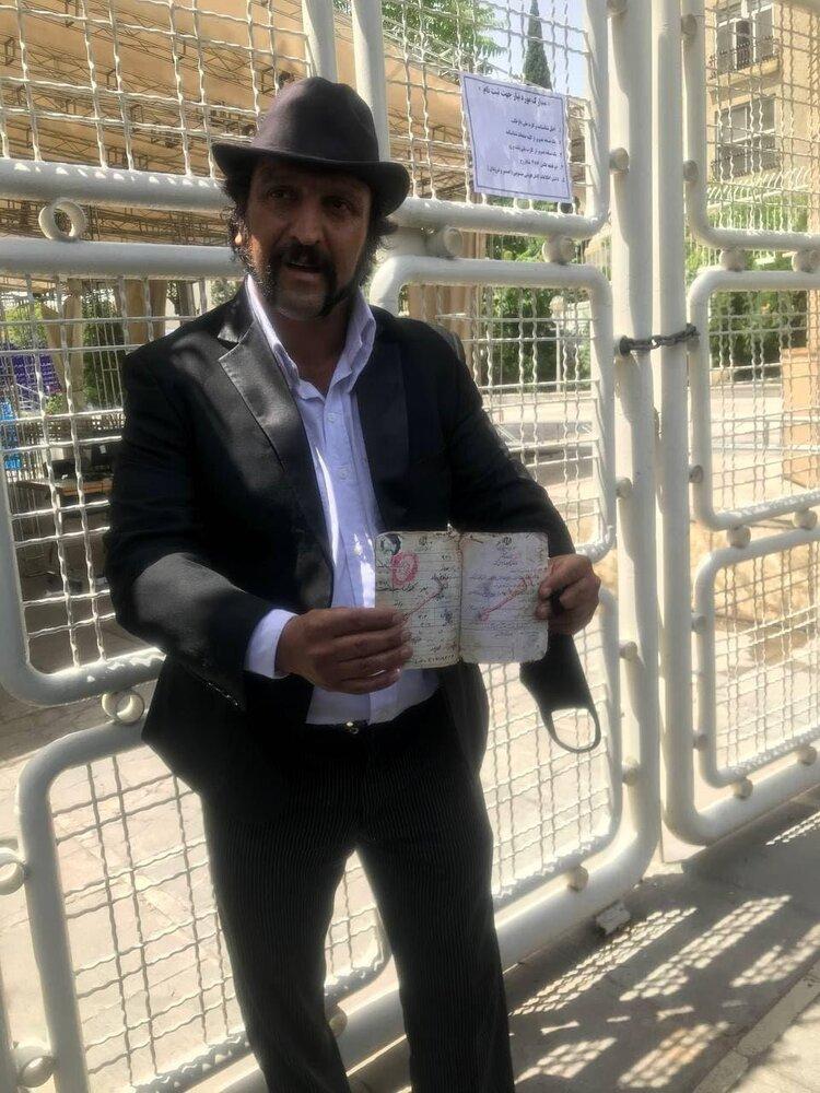 بهروز وثوقی برای کاندیداتوری به وزارت کشور رفت+عکس