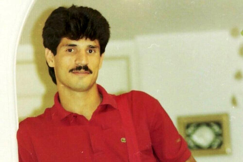 علی دایی در روزهای جوانی/عکس