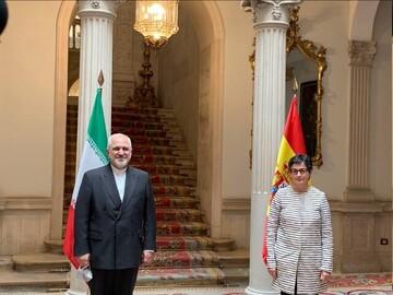 بازتاب دیدار ظریف با همتای اسپانیایی در رسانههای این کشور