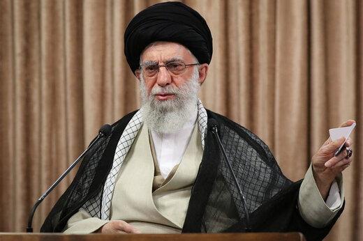 ببینید | تذکر حضرت آیتالله خامنهای به یکی از مسئولان دفتر رهبری برای حل یک مشکل