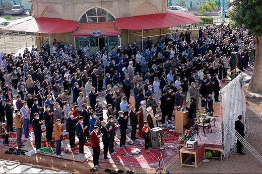 ببینید | نماز عید فطر در گوشه و کنار جهان
